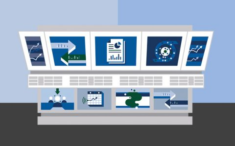 Unified video analytics illustration.