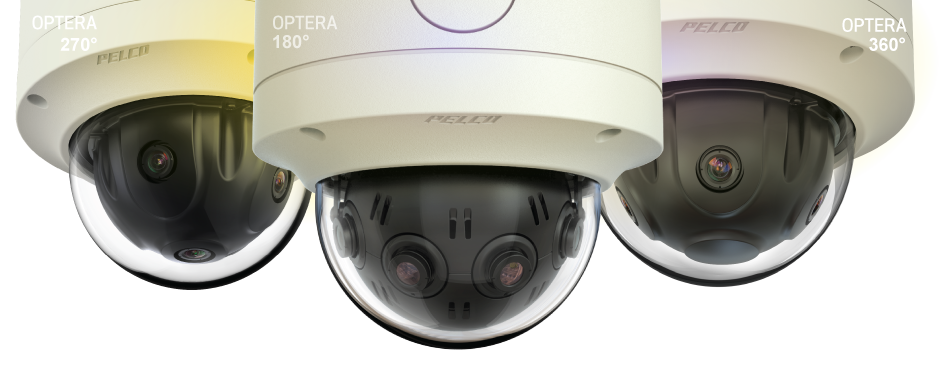 180, 270 and 360 degree digital video cameras for use in surveillance and video monitoring systems.